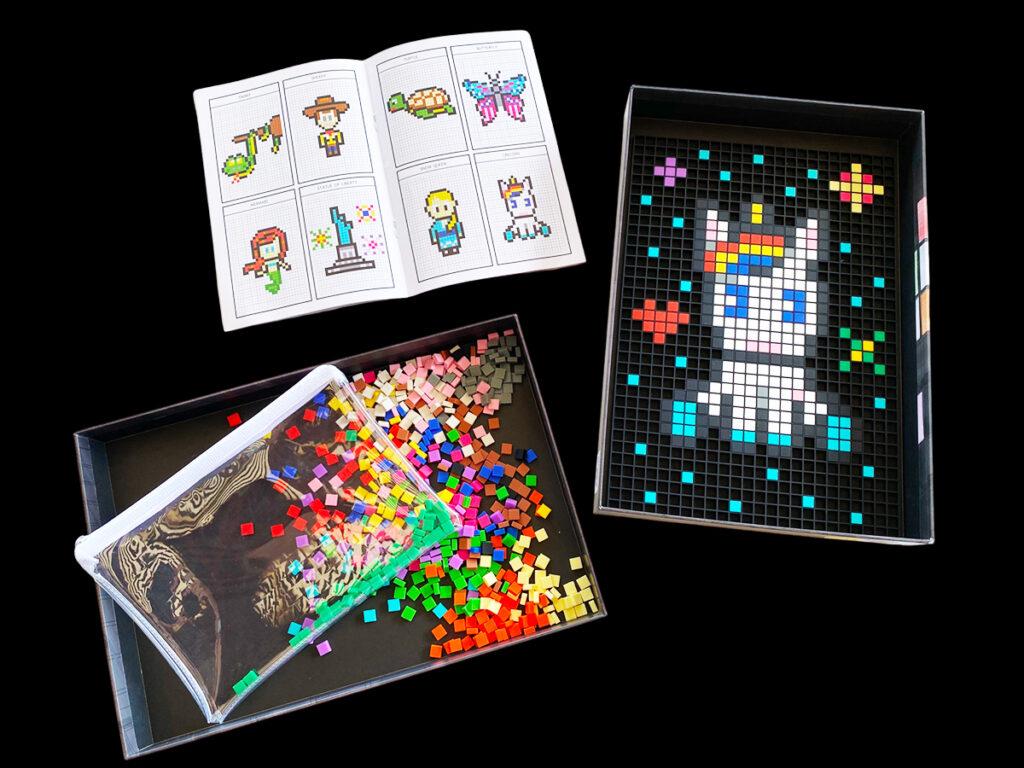 le pixel art dodocraft complet