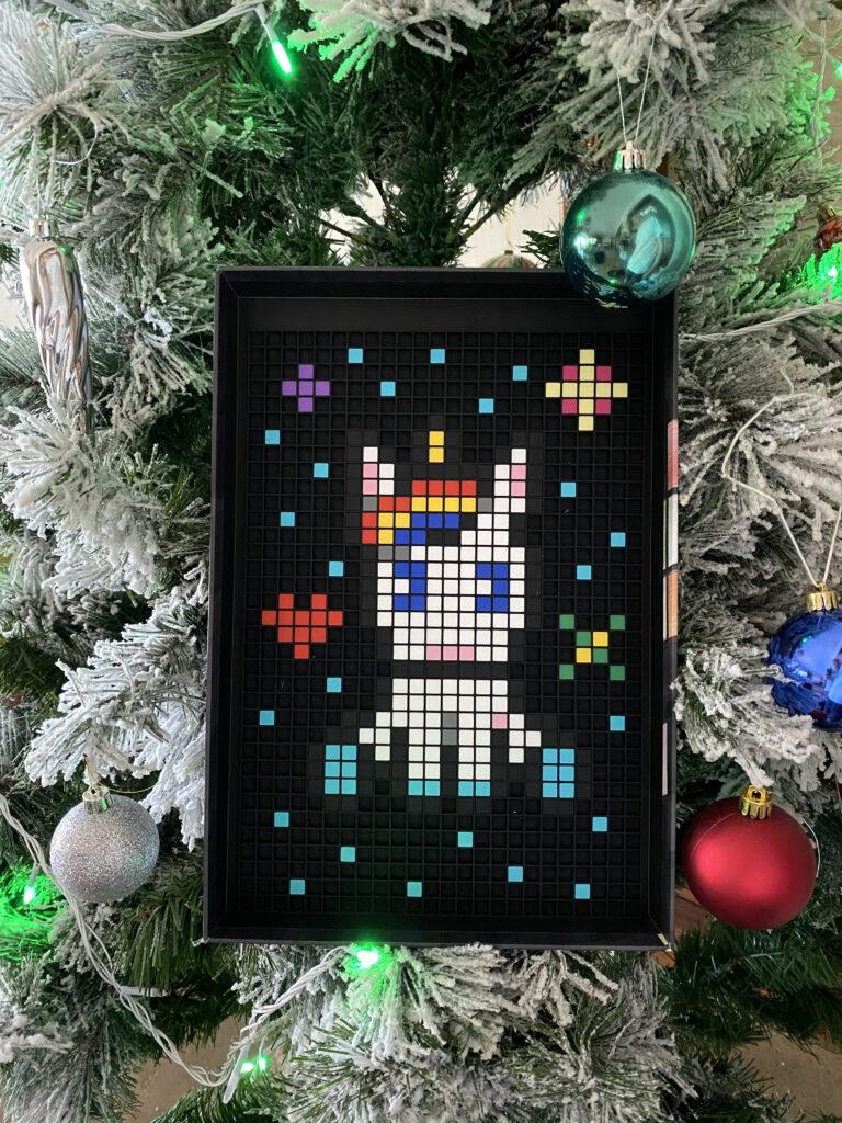 dodocraft pixel licorne sapin