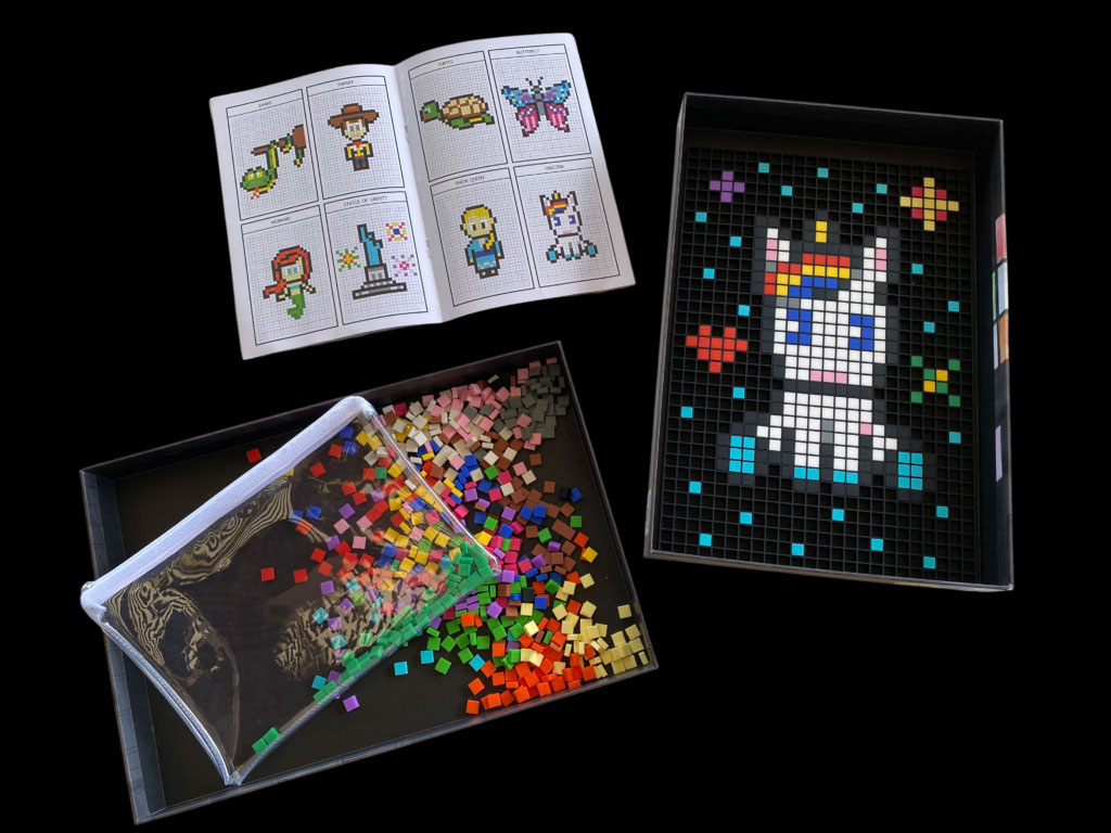 Pixel art complet