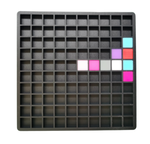 Mini grille pixel art